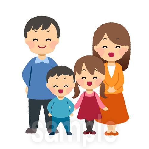 家族の立ち絵