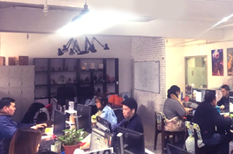 上海子会社との連携