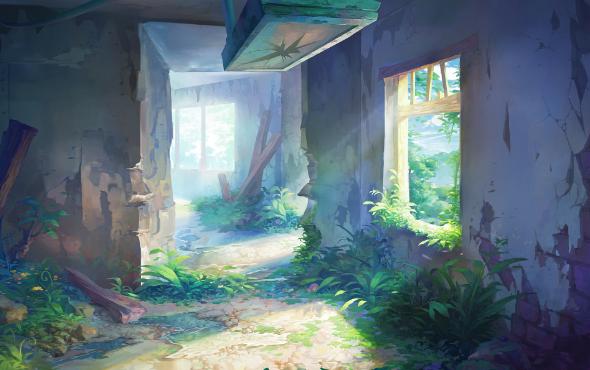 ゲーム背景16