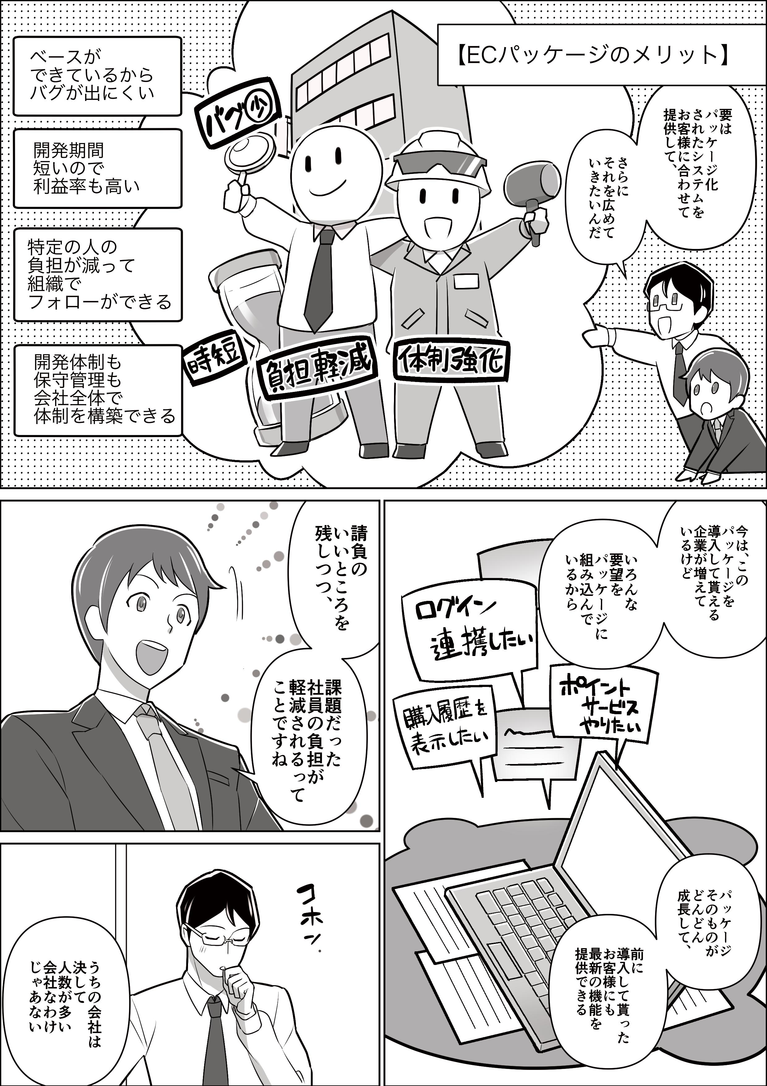 会社紹介漫画 新卒編6